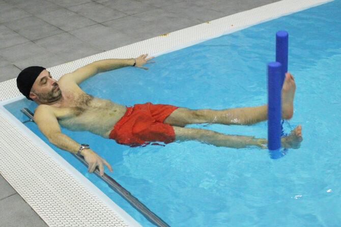 Idrokinesi: esercizi per lesione legamento crociato anteriore
