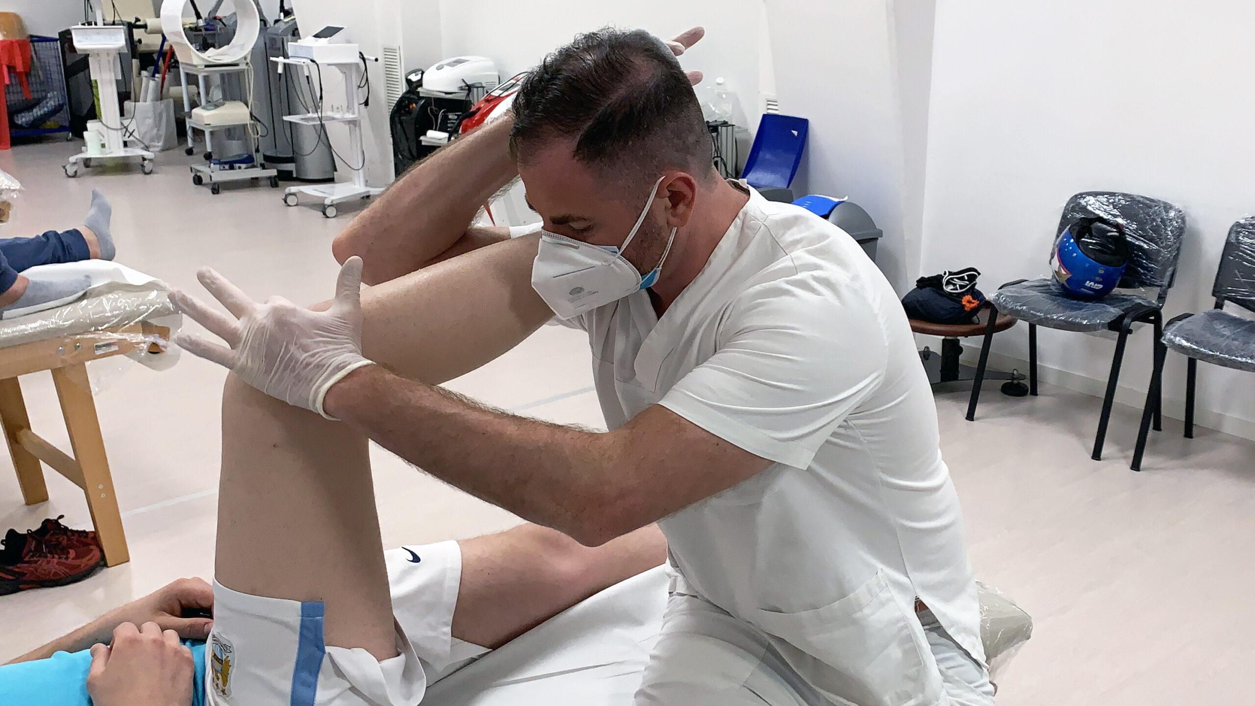 La riabilitazione dopo rottura crociato anteriore