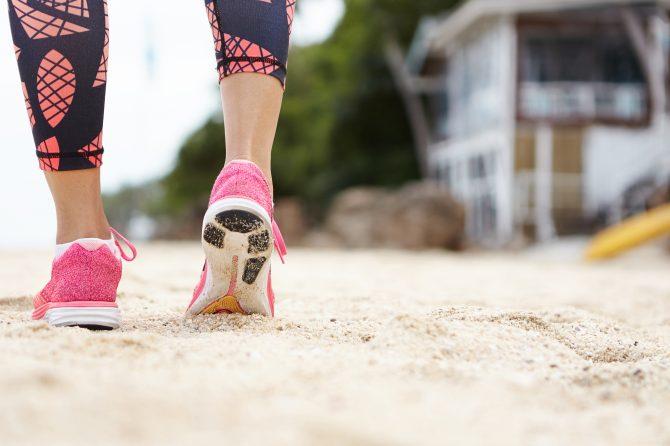 Correre sulla sabbia